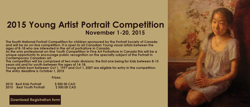 Young Artist Portrait Competition 2015